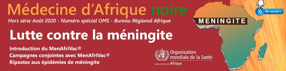 Numéro spécial OMS - Bureau Régional Afrique Août 2020 - Lutte contre la méningite - Plus d'informations