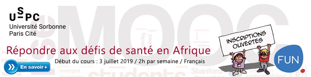 MOOC : Répondre aux défis de santé en Afrique - Plus d'informations