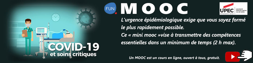 MOOC : COVID-19 et soins critiques - Informations et inscriptions