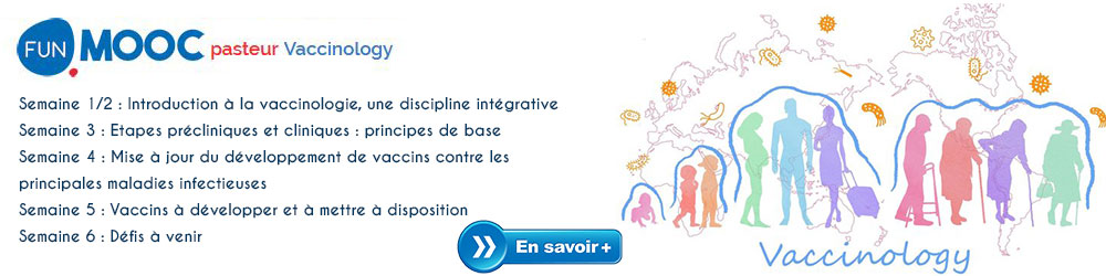MOOC : Vaccinology - Informations et inscriptions
