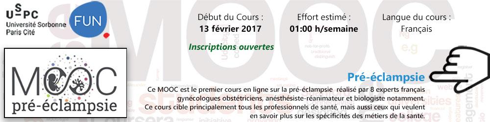 MOOC - Pré-éclampsie - Plus d'informations