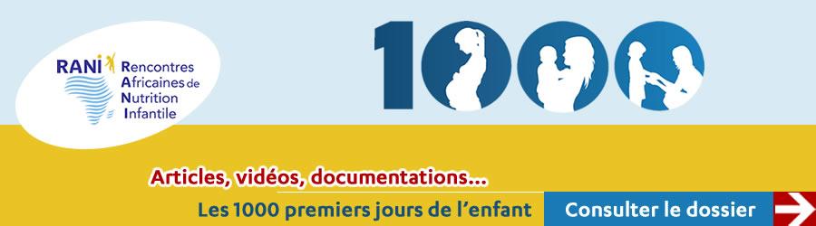 Dossier - 1000 premiers jours de vie de l'enfant - Plus d'informations