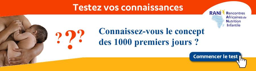 Testez vos connaissances : Connaissez-vous le concept des 1000 premiers jours ? - Plus d'informations