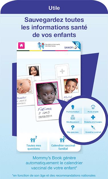 Mommy's book - Le carnet de santé digital de vos enfants