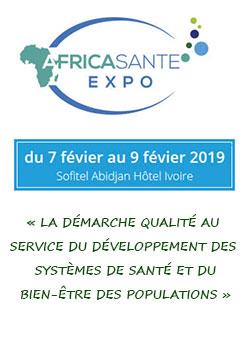 Africa Santé Expo 2019 - du 7 au 9 février 2019 - Abidjan - Côte d'Ivoire