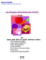 Les allergies alimentaires de l'enfant