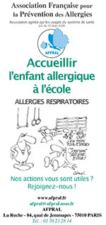 Accueillir l'enfant allergique à l'école : allergies respiratoires