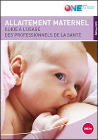 Guide d'allaitement maternel à l'usage des professionnels