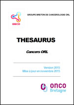 Thésaurus : Cancers ORL