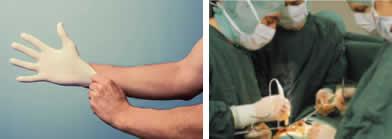 L'utilisation des gants à l'hôpital