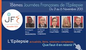 La 40ème émission de « En direct des congrès » était consacrée aux Journées Françaises de l'Epilepsie (JFE 2015) qui se sont déroulées à Montpellier du 3 au 6 Novembre 2015. Les Professeurs Edgard Brice NGOUNGOU, Michel DRUET CABANAC, Chahnez Charfi TRIKI et les docteurs Arielle CRESPEL et Philippe GELISSE font le point sur ce qu'il faut retenir de ce congrès