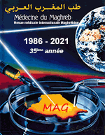 Médecine du Maghreb - Maghreb International Medical Review - 32th year