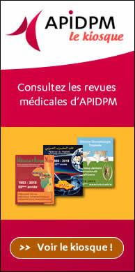 Vous souhaitez vous abonner à Médecine d'Afrique Noire ? Consulter des articles ? Rendez-vous sur le kiosque d'APIDPM - Plus d'informations