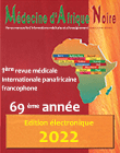 Médecine d'Afrique noire - 1st Pan African International medical journal in french language