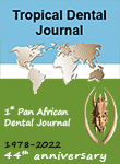 Tropical dental journal - 1st Pan African International Dental Journal